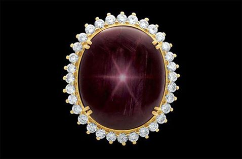 the Star of Bharany Ruby