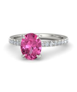 pink sapphire diamond engagement ring white gold (2)