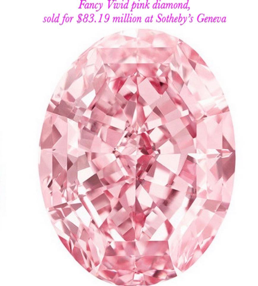 most expensive rose diamond