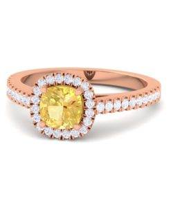 cushion cut engagement ring Sumuduni gems