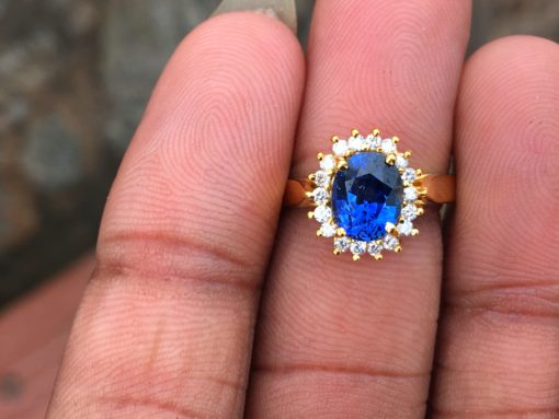 sapphire and diamond ring like princess diana